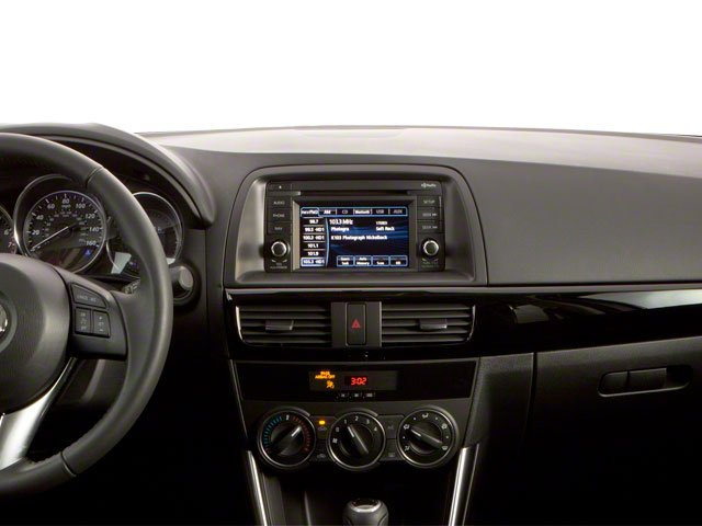 2013 Mazda CX-5 Prices and Values Utility 4D GT AWD center dashboard