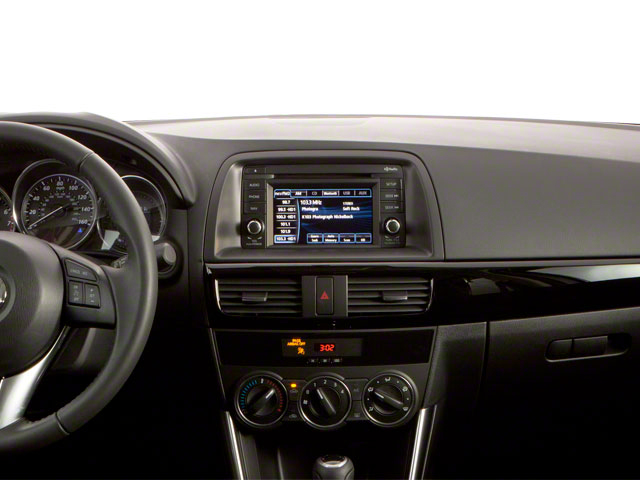 2013 Mazda CX-5 Prices and Values Utility 4D Touring 2WD center dashboard