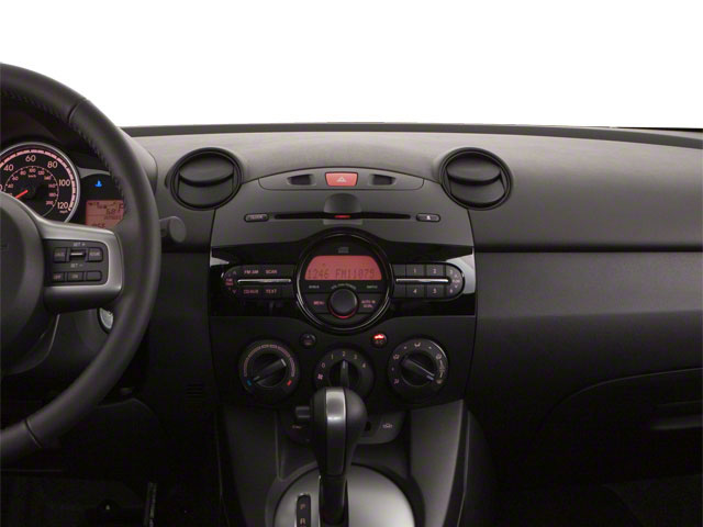 2013 Mazda Mazda2 Prices and Values Hatchback 5D Touring I4 center dashboard