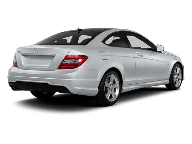 2013 Mercedes-Benz C-Class Pictures C-Class Coupe 2D C250 photos side rear view