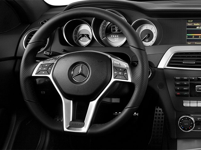 2013 Mercedes-Benz C-Class Pictures C-Class Coupe 2D C250 photos driver's dashboard