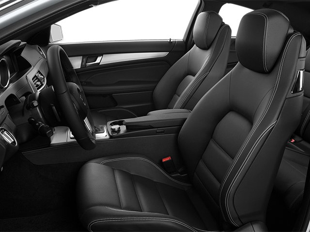 2013 Mercedes-Benz C-Class Prices and Values Coupe 2D C250 front seat interior