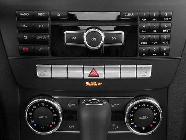 2013 Mercedes-Benz C-Class Prices and Values Coupe 2D C250 stereo system