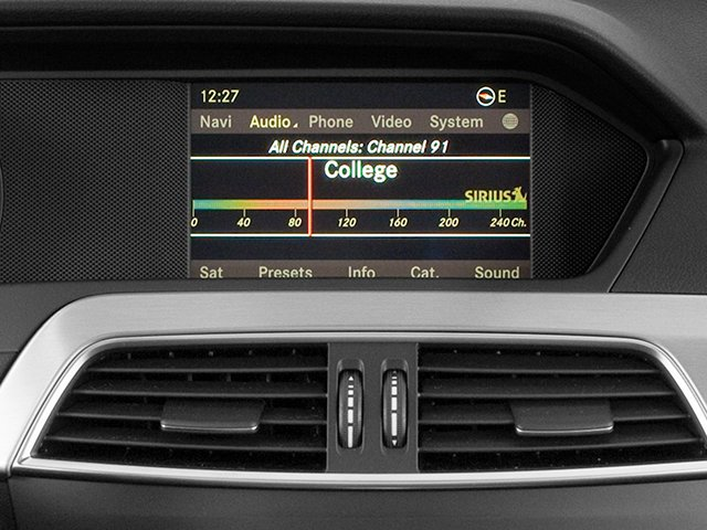 2013 Mercedes-Benz C-Class Prices and Values Coupe 2D C250 navigation system