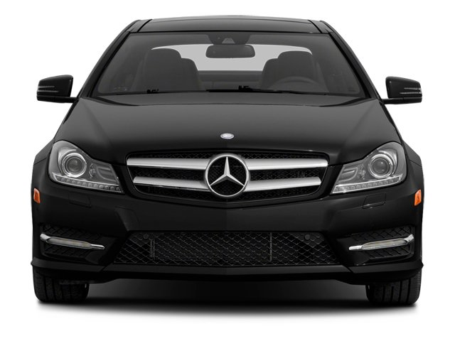 2013 Mercedes-Benz C-Class Prices and Values Coupe 2D C350 front view