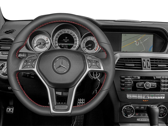 2013 Mercedes-Benz C-Class Pictures C-Class Coupe 2D C350 AWD photos driver's dashboard