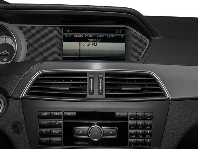 2013 Mercedes-Benz C-Class Prices and Values Coupe 2D C350 stereo system
