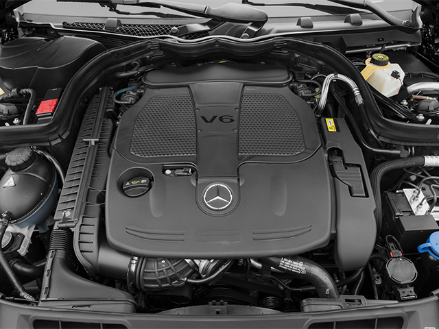 2013 Mercedes-Benz C-Class Pictures C-Class Coupe 2D C350 AWD photos engine