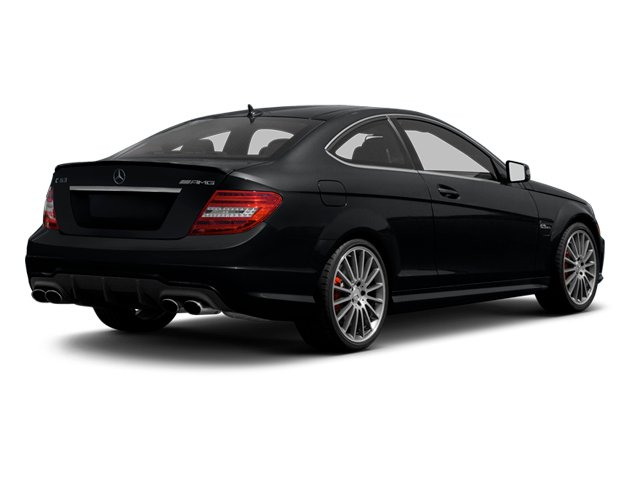 2013 Mercedes-Benz C-Class Pictures C-Class Coupe 2D C63 AMG photos side rear view