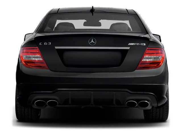 2013 Mercedes-Benz C-Class Prices and Values Coupe 2D C63 AMG rear view