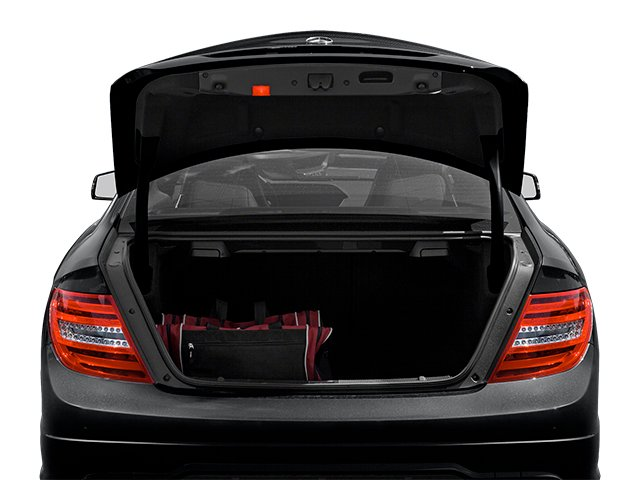 2013 Mercedes-Benz C-Class Prices and Values Coupe 2D C63 AMG open trunk