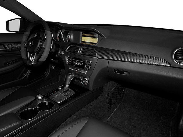 2013 Mercedes-Benz C-Class Prices and Values Coupe 2D C63 AMG passenger's dashboard