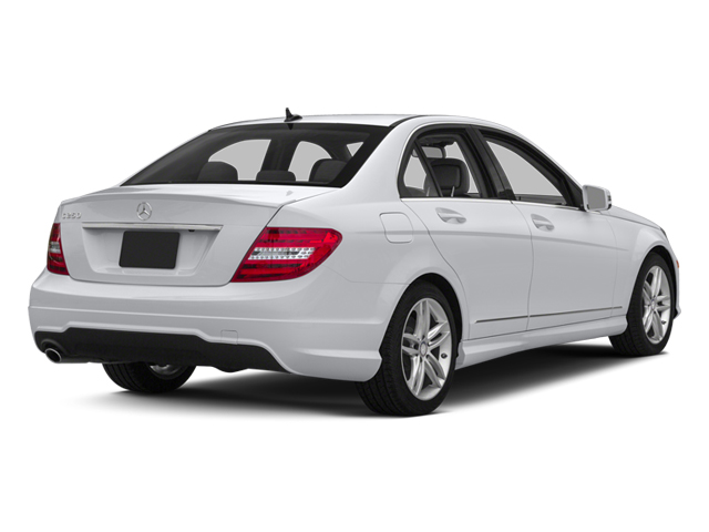 2013 Mercedes-Benz C-Class Prices and Values Sedan 4D C300 AWD side rear view