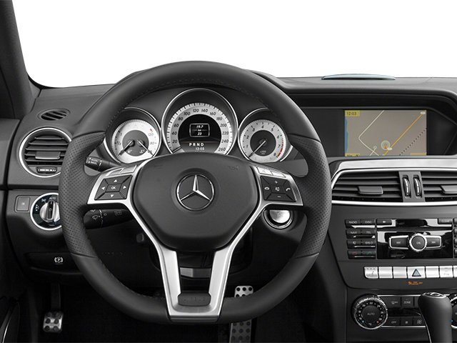 2013 Mercedes-Benz C-Class Prices and Values Sport Sedan 4D C350 driver's dashboard