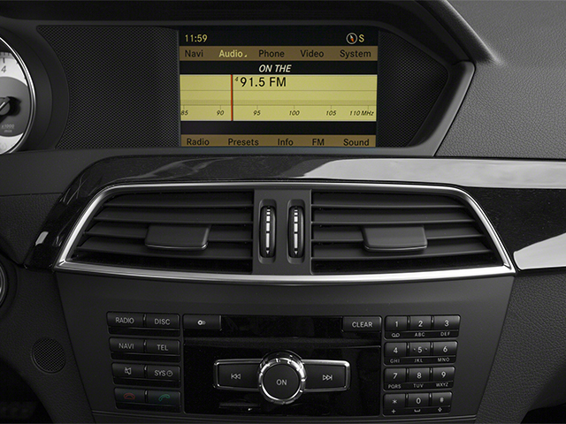 2013 Mercedes-Benz C-Class Prices and Values Sport Sedan 4D C350 stereo system