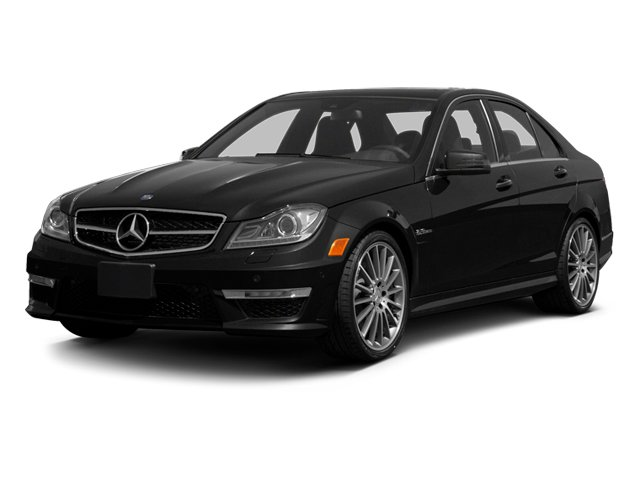 2013 Mercedes-Benz C-Class Prices and Values Sport Sedan 4D C63 AMG side front view