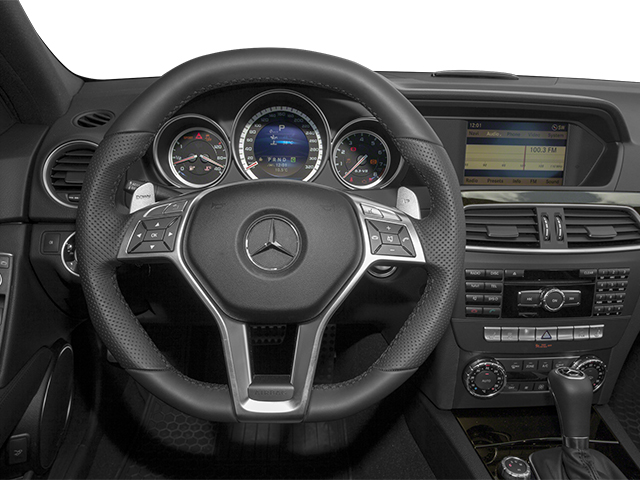 2013 Mercedes-Benz C-Class Prices and Values Sport Sedan 4D C63 AMG driver's dashboard