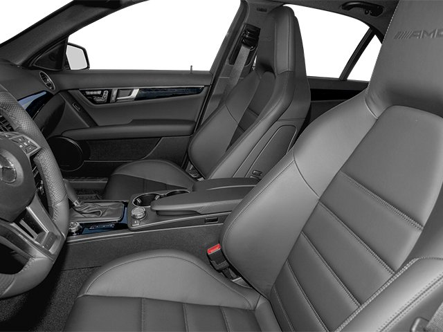 2013 Mercedes-Benz C-Class Prices and Values Sport Sedan 4D C63 AMG front seat interior