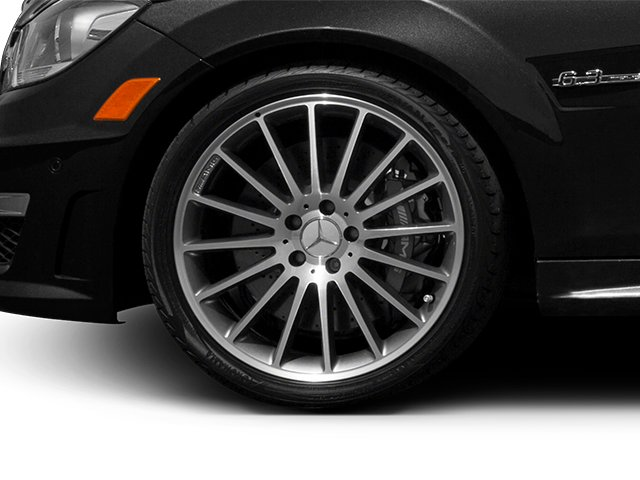 2013 Mercedes-Benz C-Class Prices and Values Sport Sedan 4D C63 AMG wheel