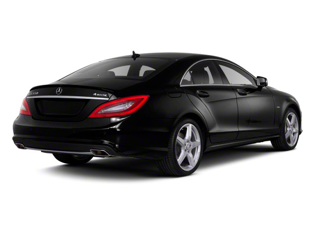 2013 Mercedes-Benz CLS-Class Pictures CLS-Class Sedan 4D CLS550 AWD photos side rear view