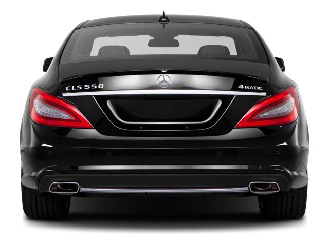 2013 Mercedes-Benz CLS-Class Pictures CLS-Class Sedan 4D CLS550 AWD photos rear view