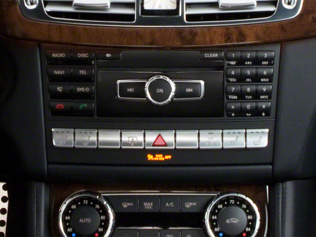 2013 Mercedes-Benz CLS-Class Prices and Values Sedan 4D CLS550 stereo system