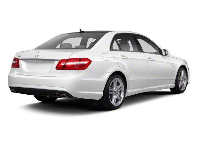 2013 Mercedes-Benz E-Class Prices and Values Sedan 4D E400 Hybrid side rear view