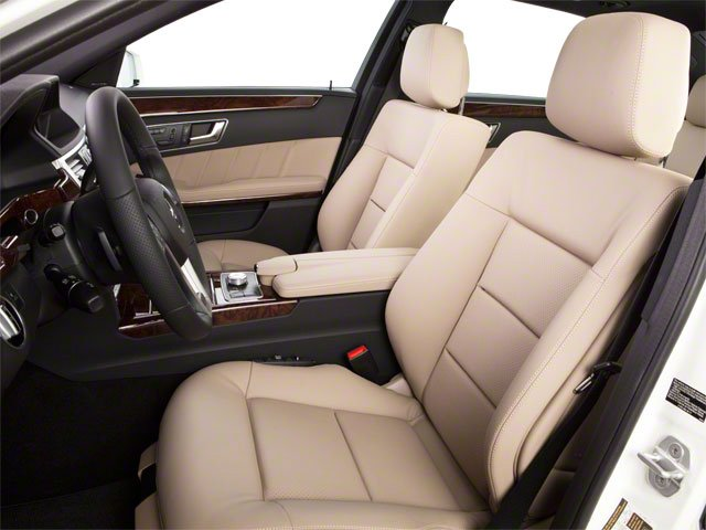 2013 Mercedes-Benz E-Class Prices and Values Sedan 4D E400 Hybrid front seat interior
