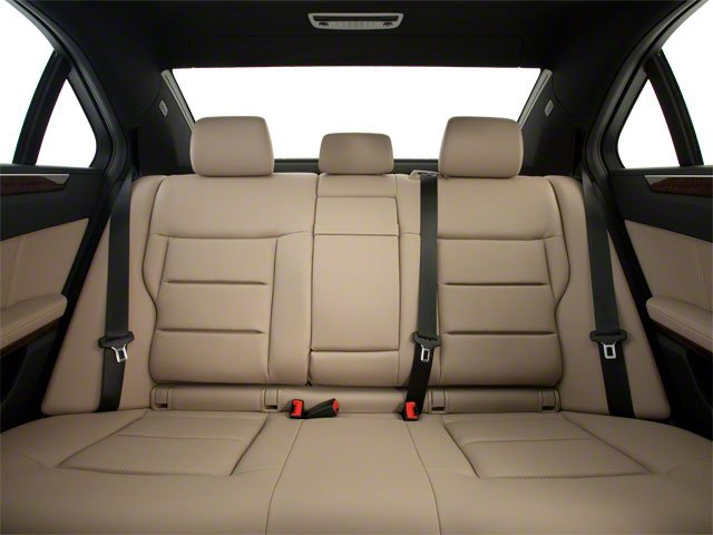 2013 Mercedes-Benz E-Class Prices and Values Sedan 4D E400 Hybrid backseat interior