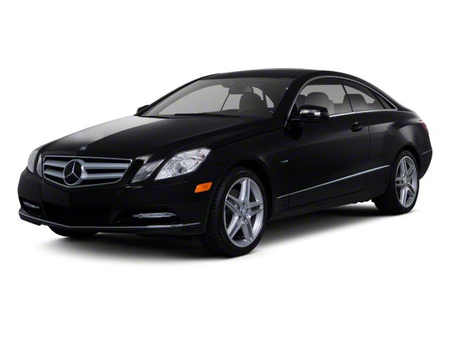 2013 Mercedes-Benz E-Class Prices and Values Coupe 2D E350 side front view