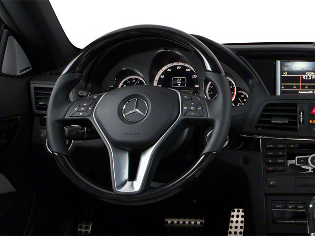 2013 Mercedes-Benz E-Class Prices and Values Coupe 2D E350 driver's dashboard