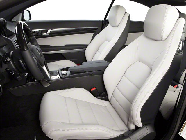 2013 Mercedes-Benz E-Class Prices and Values Coupe 2D E350 front seat interior