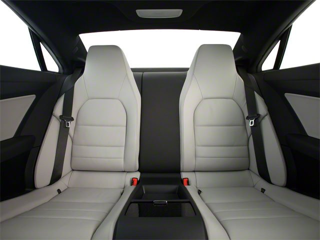 2013 Mercedes-Benz E-Class Prices and Values Coupe 2D E350 backseat interior