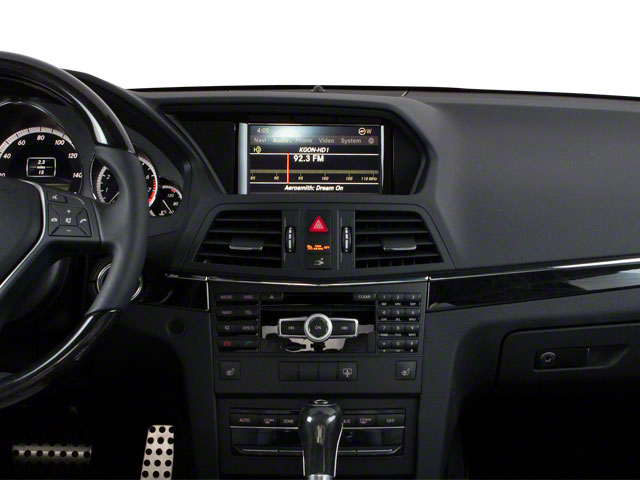 2013 Mercedes-Benz E-Class Prices and Values Coupe 2D E350 center dashboard
