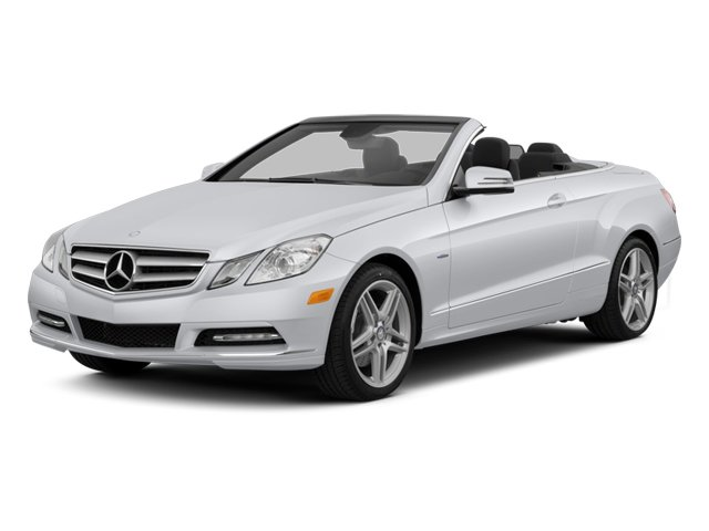 2013 Mercedes-Benz E-Class Prices and Values Convertible 2D E350 side front view