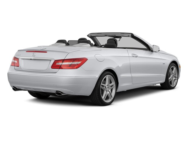 2013 Mercedes-Benz E-Class Prices and Values Convertible 2D E350 side rear view