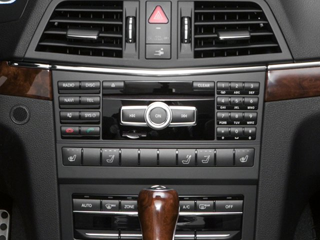 2013 Mercedes-Benz E-Class Prices and Values Convertible 2D E350 stereo system