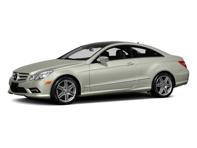 2013 Mercedes-Benz E-Class Pictures E-Class Coupe 2D E550 photos side front view
