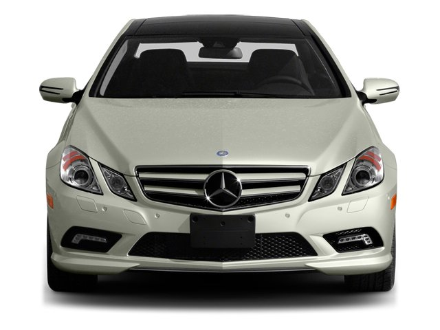 2013 Mercedes-Benz E-Class Prices and Values Coupe 2D E550 front view