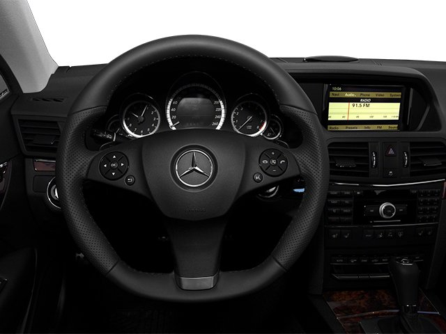 2013 Mercedes-Benz E-Class Pictures E-Class Coupe 2D E550 photos driver's dashboard