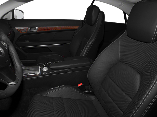 2013 Mercedes-Benz E-Class Prices and Values Coupe 2D E550 front seat interior