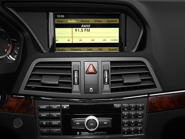 2013 Mercedes-Benz E-Class Prices and Values Coupe 2D E550 stereo system