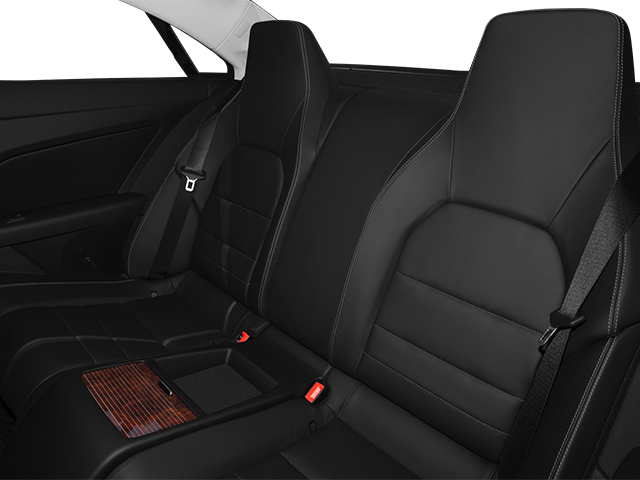 2013 Mercedes-Benz E-Class Pictures E-Class Coupe 2D E550 photos backseat interior