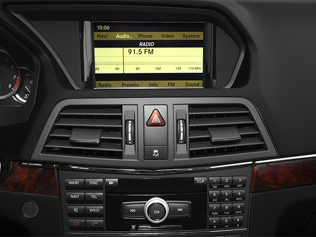 2013 Mercedes-Benz E-Class Prices and Values Coupe 2D E550 navigation system