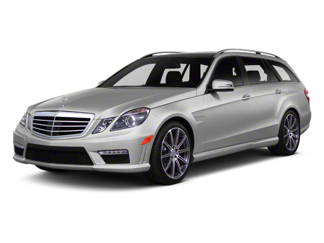 2013 Mercedes-Benz E-Class Prices and Values Wagon 4D E63 AMG side front view