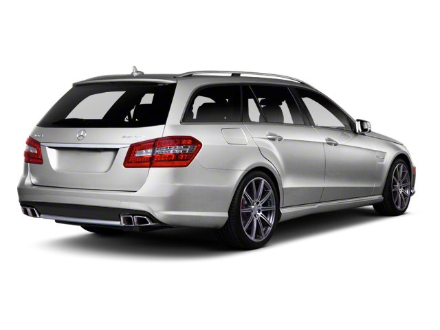 2013 Mercedes-Benz E-Class Prices and Values Wagon 4D E63 AMG side rear view