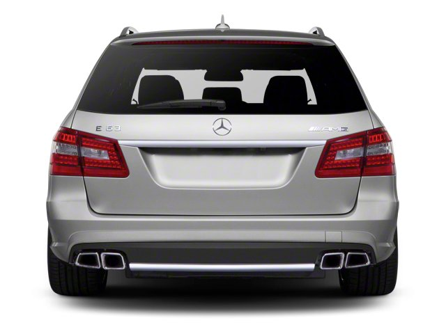 2013 Mercedes-Benz E-Class Prices and Values Wagon 4D E63 AMG rear view