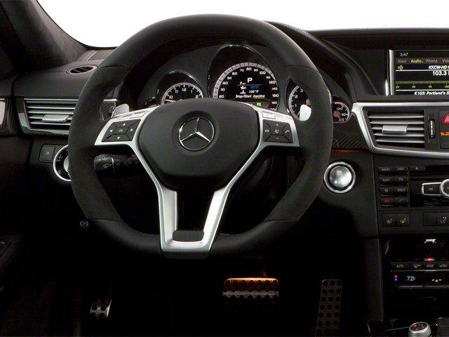 2013 Mercedes-Benz E-Class Prices and Values Wagon 4D E63 AMG driver's dashboard