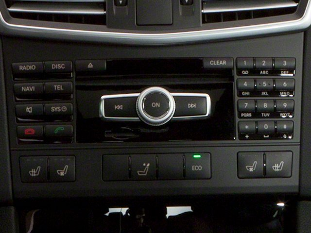 2013 Mercedes-Benz E-Class Prices and Values Wagon 4D E63 AMG stereo system