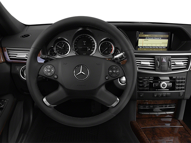2013 Mercedes-Benz E-Class Prices and Values Sedan 4D E350 BlueTec driver's dashboard